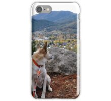 """Are we really staying in one of those teeny houses down there?"" iPhone Case/Skin"