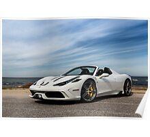 Ferrari 458 Speciale Aperta Poster