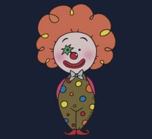 Red nose circus clown  One Piece - Short Sleeve