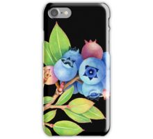 Wild Maine Blueberries iPhone Case/Skin