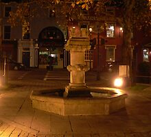 Water Fountain,,The Square,Cahir,Co.Tipperary.Ireland. by Pat Duggan