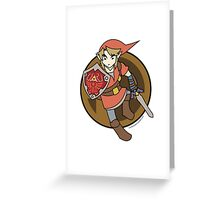 Smash Brothers Red Link  Greeting Card