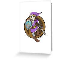 Smash Brother Purple Link Greeting Card