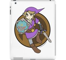 Smash Brother Purple Link iPad Case/Skin