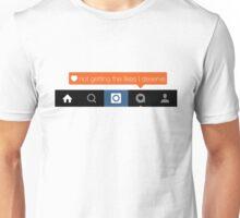 Instagram Piece Unisex T-Shirt