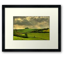 Out in the boondocks Framed Print