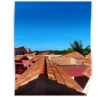 Roof Tops Poster