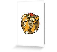 Smash Brothers Original Bowser Greeting Card