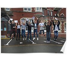 Hayes School in Kent GCSE results students 2015 Poster
