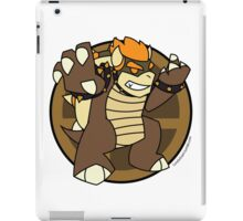 Smash Brothers Brown Bowser iPad Case/Skin