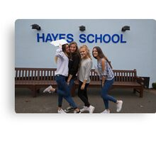 Hayes School in Kent GCSE results students 2015 Canvas Print
