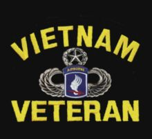 173rd Airborne Vietnam Veteran (sm) by Walter Colvin