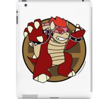 Smash Brothers Red Bowser iPad Case/Skin