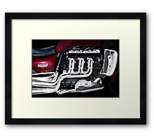 British Muscle Framed Print