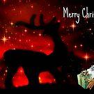 Santas Reindeer ©  by Dawn Becker