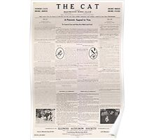 United States Department of Agriculture Poster 0211 The Cat Poster