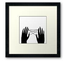 Hands Framed Print