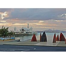 Fins, Pier & You Yangs Photographic Print