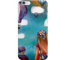 Hot Air Balloons iPhone Case/Skin