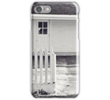 old house and fence iPhone Case/Skin