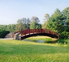 Sherwood lake arched bridge by fotoflossy