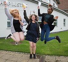Bishop Justus School GCSE results students 2015 by Keith Larby