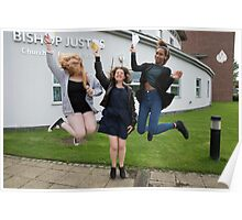Bishop Justus School GCSE results students 2015 Poster