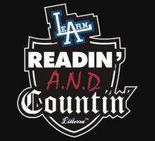 Learn Readin' and Countin' by lilterra.com One Piece - Short Sleeve