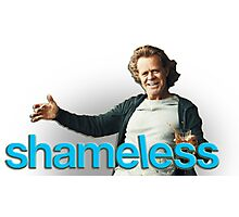 Shameless: Frank Gallagher Photographic Print