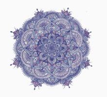 Watercolour Mandala Purple T-Shirt