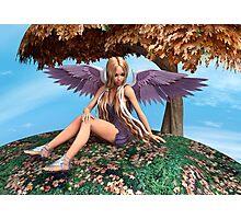 Autumn Angel Photographic Print