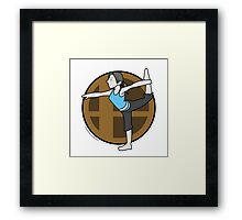 Smash Brothers Original Female Wii Fit Trainer Framed Print