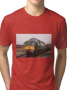British Rail class 37 diesel-electric Locomotive Tri-blend T-Shirt