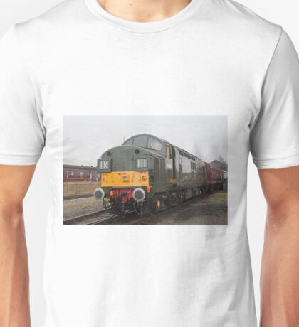 British Rail class 37 diesel-electric Locomotive Unisex T-Shirt