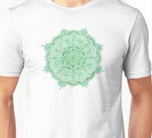 Watercolour Mandala Green Unisex T-Shirt