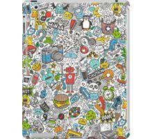 Comic Popart Doodle iPad Case/Skin