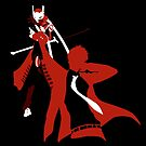 Jester/Magatsu-Izanagi (Persona 4) by RobsteinOne
