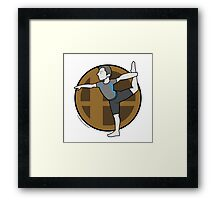 Smash Brothers Original Male Wii Fit Trainer Framed Print