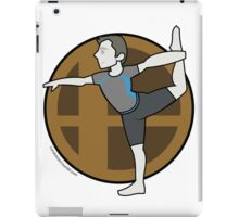 Smash Brothers Original Male Wii Fit Trainer iPad Case/Skin