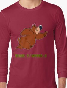 BEAR vs WOODS Long Sleeve T-Shirt