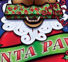 Santa Paws Sticker