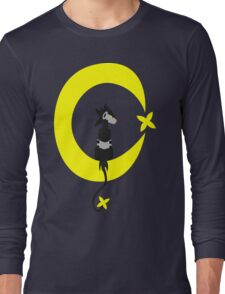 Big Electric Cat on the Moon Long Sleeve T-Shirt