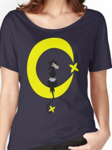Big Electric Cat on the Moon Women's Relaxed Fit T-Shirt