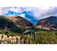 Autumn Moutain Pass- Veta Pass, Colorado Photographic Print