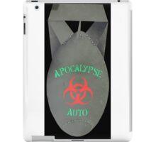 da bomb apocalypse auto iPad Case/Skin