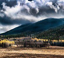 Mountain Panoramic- southern colorado by Jerald Johnson