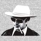 Hunter S Thompson by Tim Topping