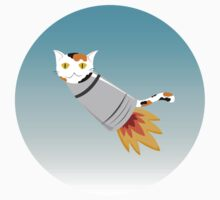 Cat Rocket in Blue Kids Clothes