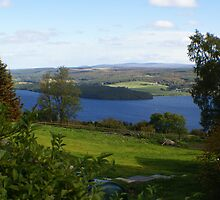 view across Loch Ness by BronReid