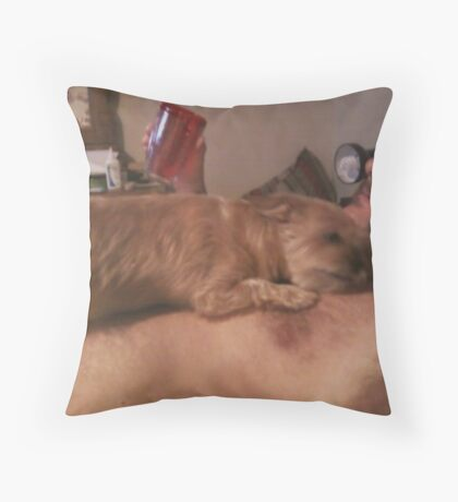 She's Daddy's Little Girl Throw Pillow